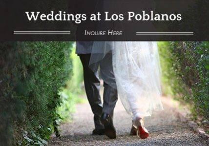 Weddings at Los Poblanos - Inquire Here