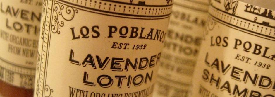 Bottled lavender products