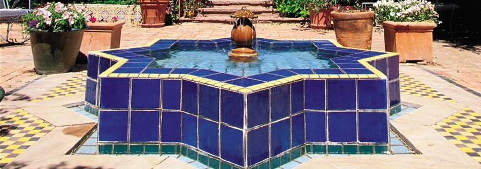 Exterior water feature