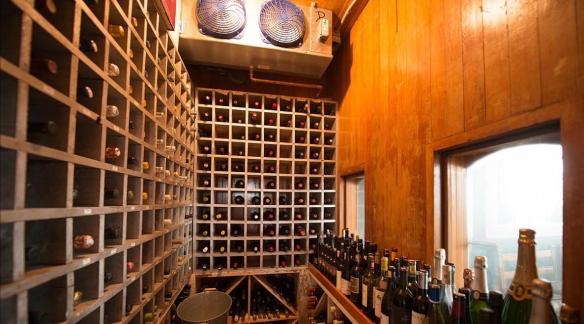 LP wine cellar
