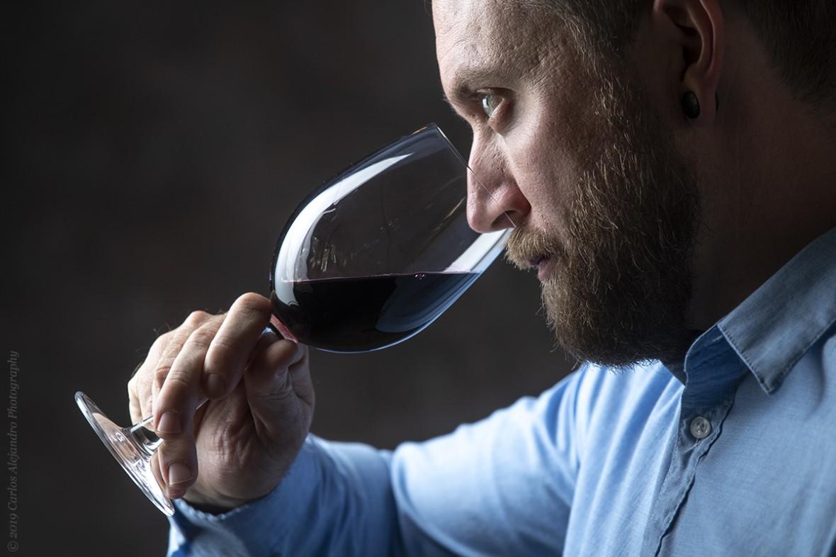 wine sommelier Dylan
