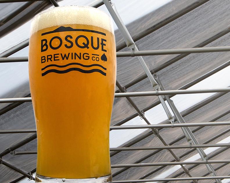 Bosque beer cup