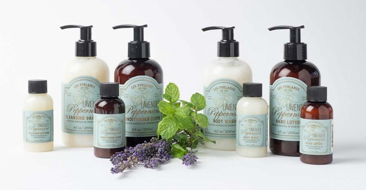 new lavender mint amenity line