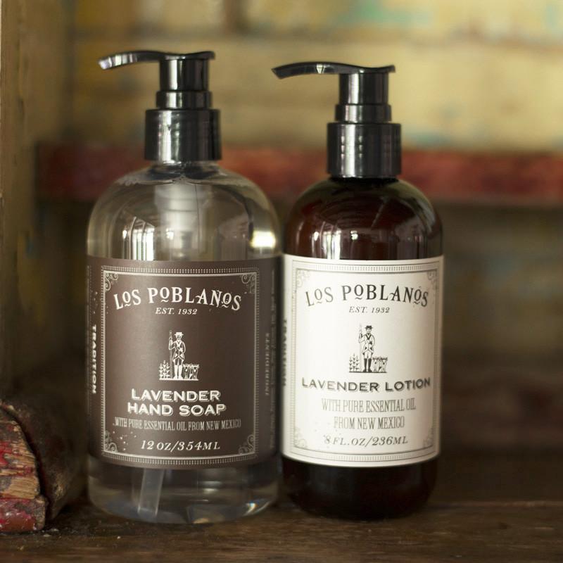 los poblanos lavender hand soap
