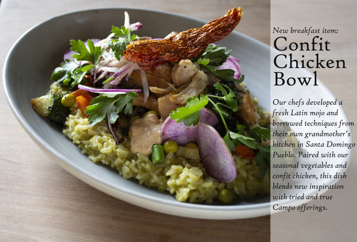 Chicken Confit Bowl