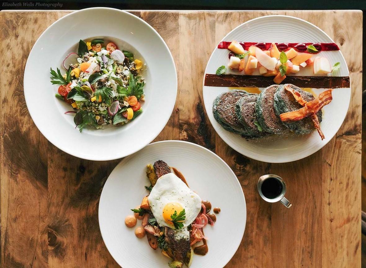 campo breakfast plates by Elizabeth Wells