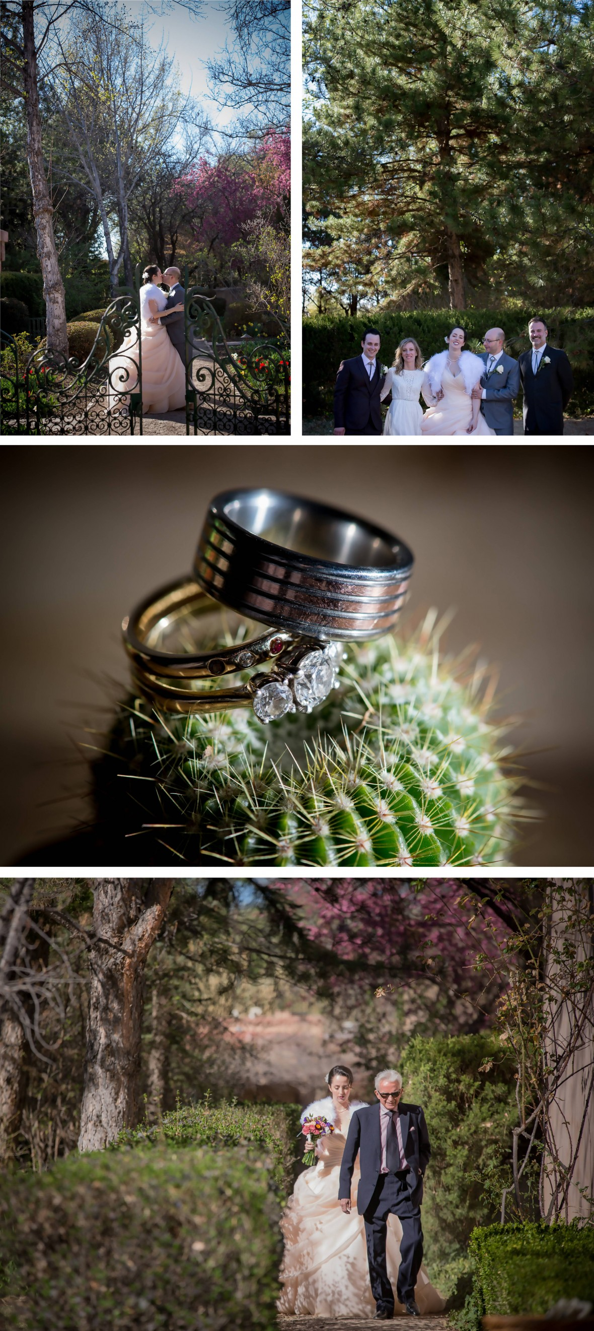 Weddings at Los Poblanos Isabel & Simon collage