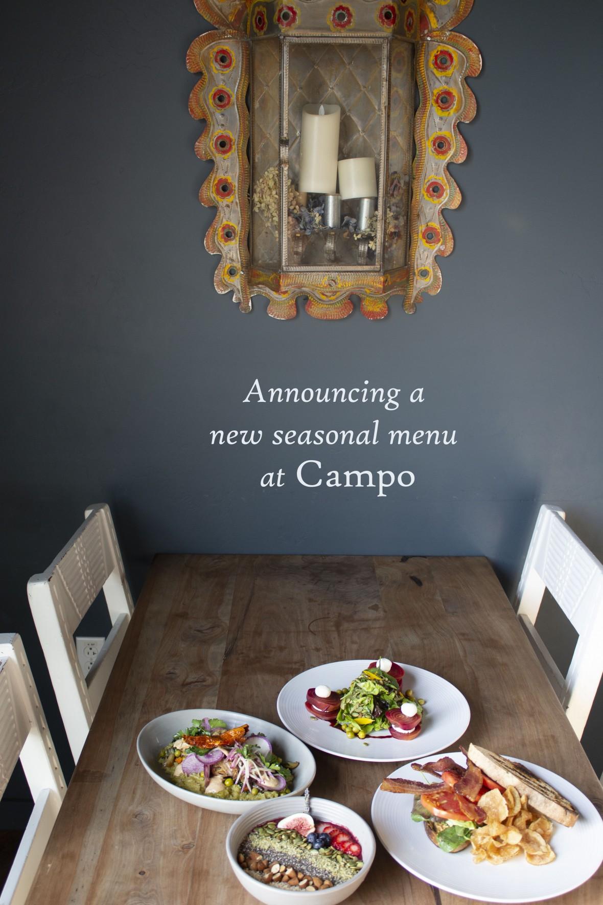 New Campo menu