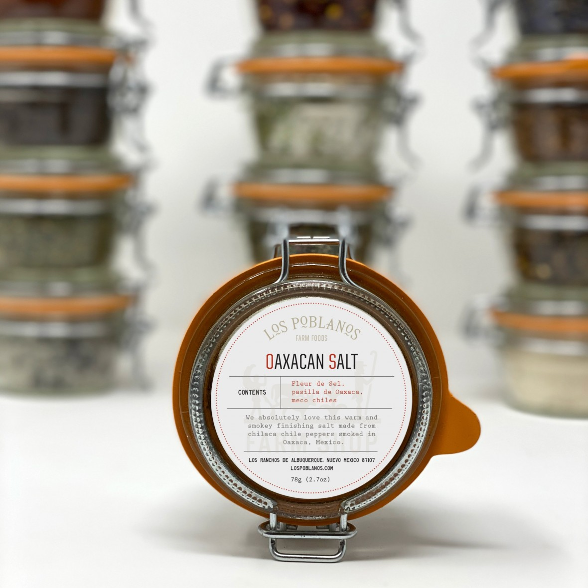 container of Oaxacan salt