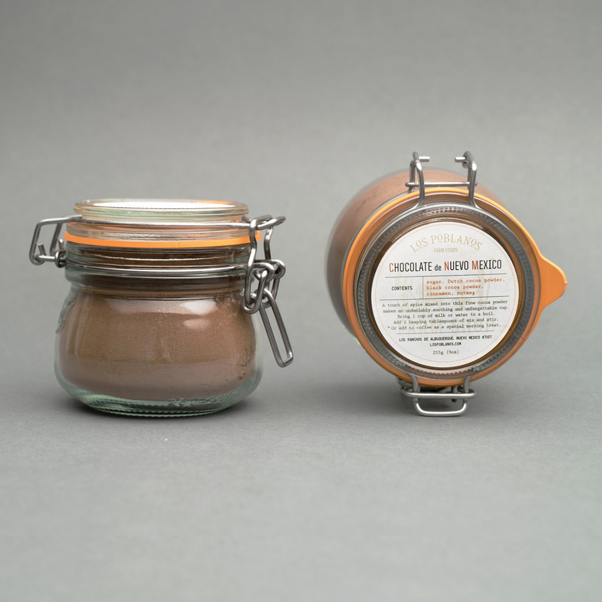 hot chocolate in container