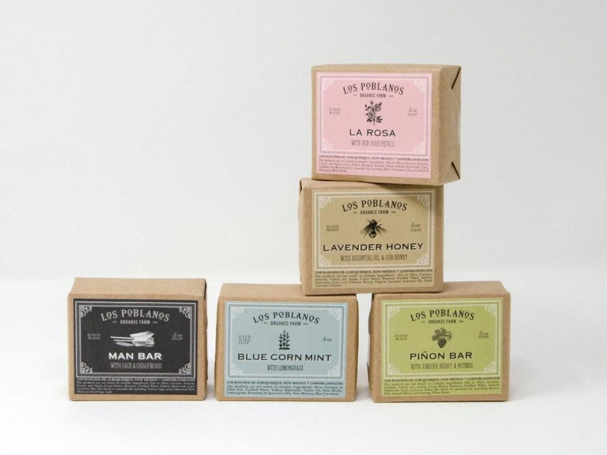 Los Poblanos bar soap collection