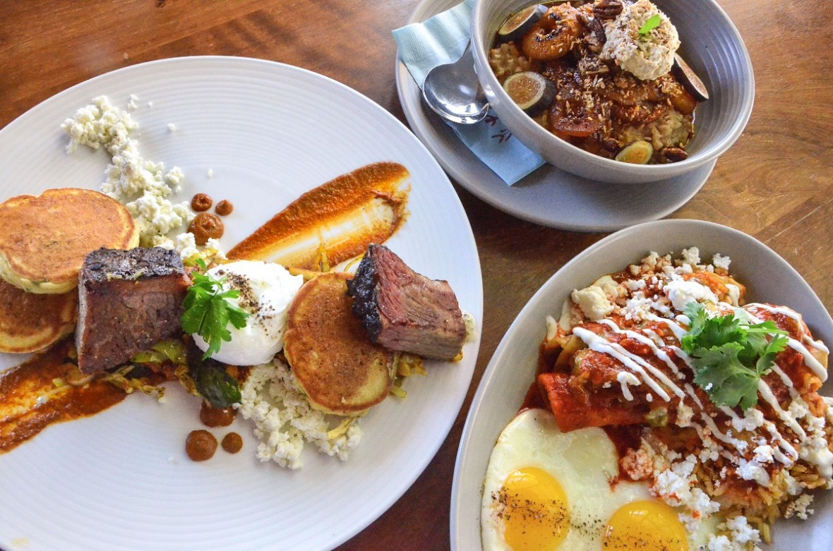 campo breakfast dishes