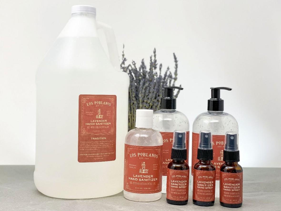 lavender sanitizer products