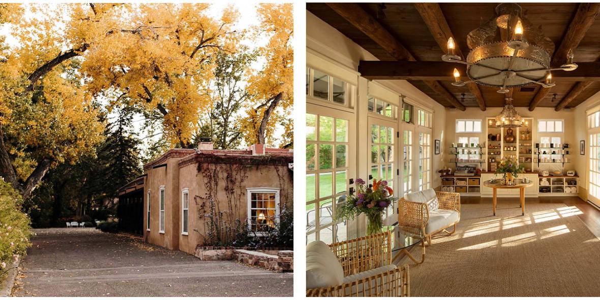 photo set of fall at the hacienda