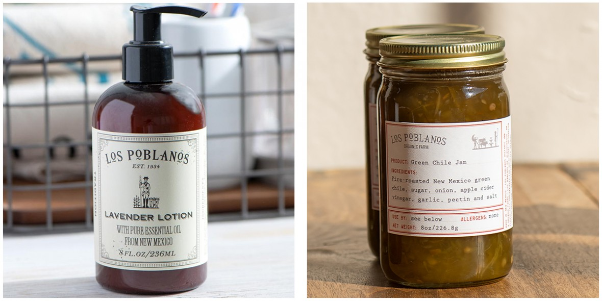lotion and green chili jam