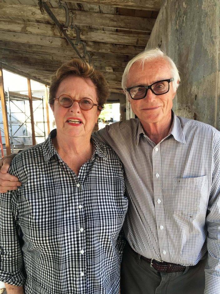 Penny and Armin Rembe, founders of Los Poblanos Historic Inn & Organic Farm.