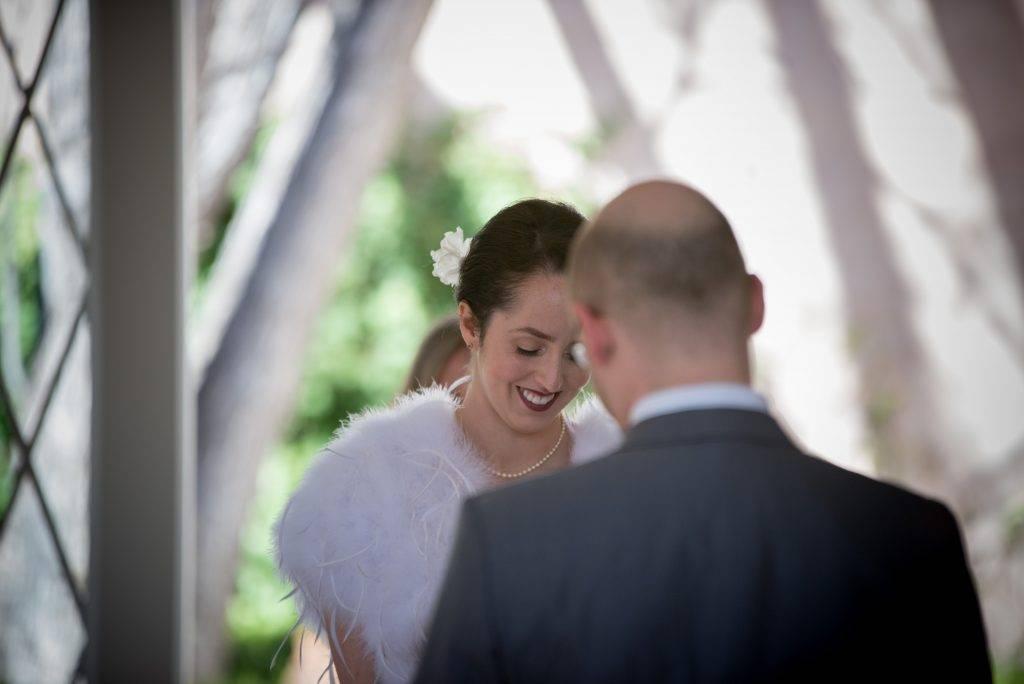 Weddings at Los Poblanos Isabel & Simon vows