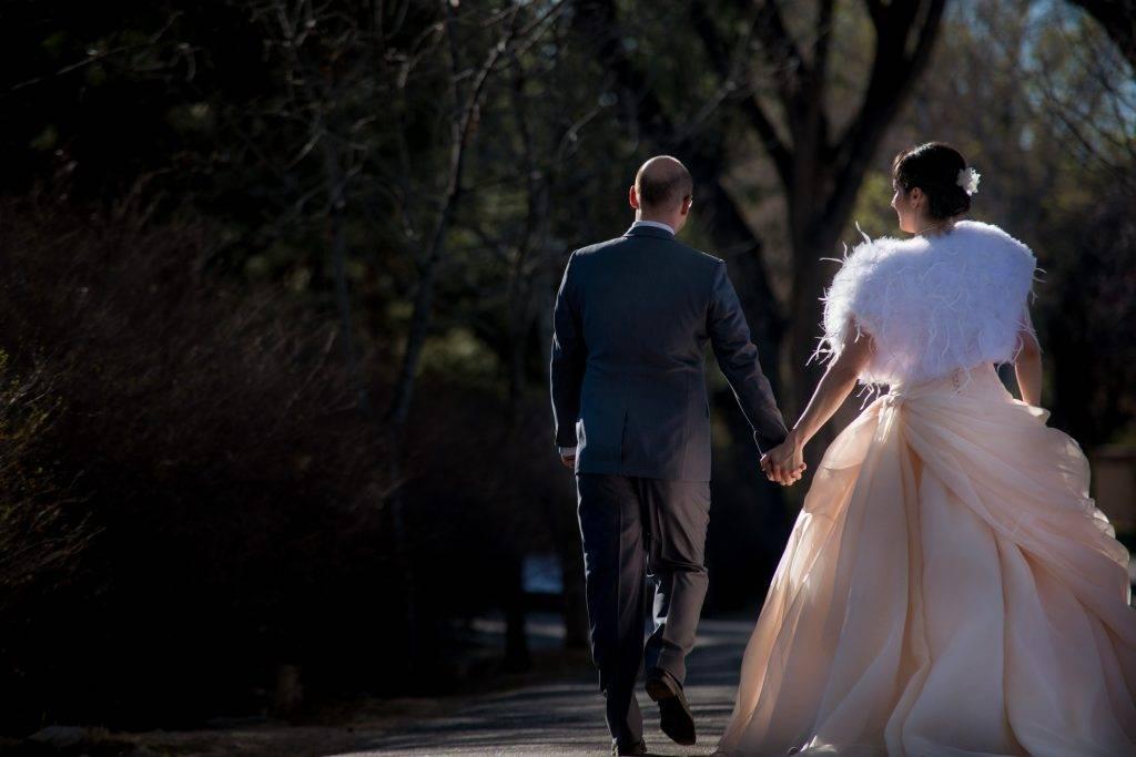 Weddings at Los Poblanos Isabel & Simon