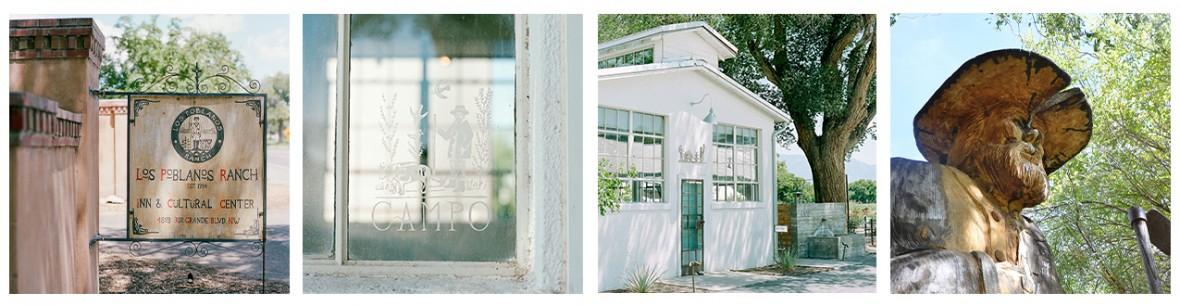 San Ysidro set of four pictures