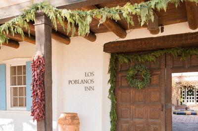 Winter at Los Poblanos